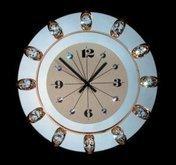 Divar saatı Orion Uhren Wanduhr 13K/WV74 gold