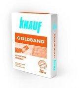 Сухая штукатурная смесь на основе гипса с полимерными добавками Knauf Goldband
