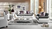 Divan və kreslo  Bəyaz mobilya