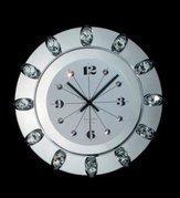 Divar saatı Orion Uhren Wanduhr 13k/wv75 chrom