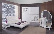Yataq mebeli Bəyaz mobilya