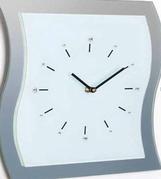 Divar saatı Orion Uhren Wanduhr 13K/WV33 weiß Strass