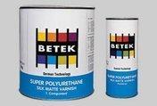 Двухкомпонентная полиуретановый лак последнего слоя Betek SPU Silk Matt-Matt Varnish / Hardener