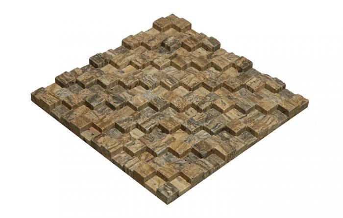Mozaika Fimart stone Viola Mystic Travertine #1
