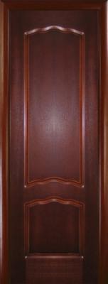 Шпонированные межкомнатные двери Диана ДГ махагон