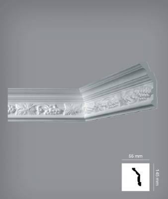 Плинтус потолочный Bovellacci Eeurostyl EF8L
