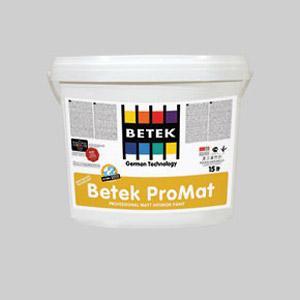 İnteryer boyası Betek ProMat