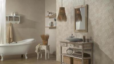 Керамическая плитка для ванной комнаты Peronda Tomette
