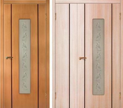 Межкомнатная шпонированная дверь Зодчий Этюд