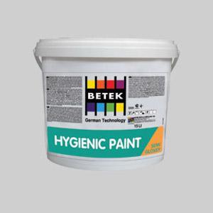 Антибактериальная полуматовая краска для внутренних работ Betek Hygienic Paint-Semi Gloss