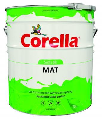 Синтетическая матовая  краска Corella Sintetik mat boya